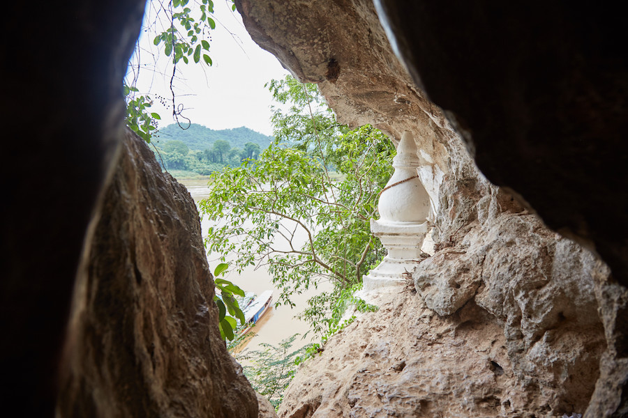 Pak Ou Cave Opening