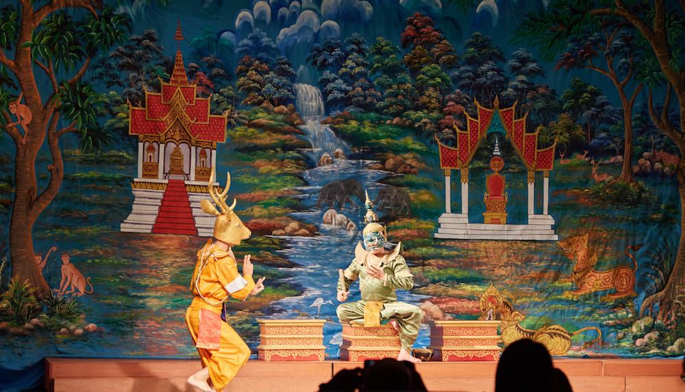 Phra Lak Phra Ram Golden Deer