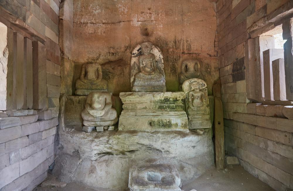 Tao Baros Temple Interior