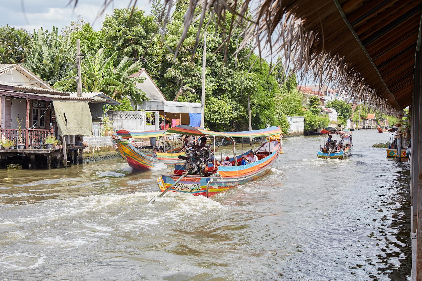Bangluang Canal Boats