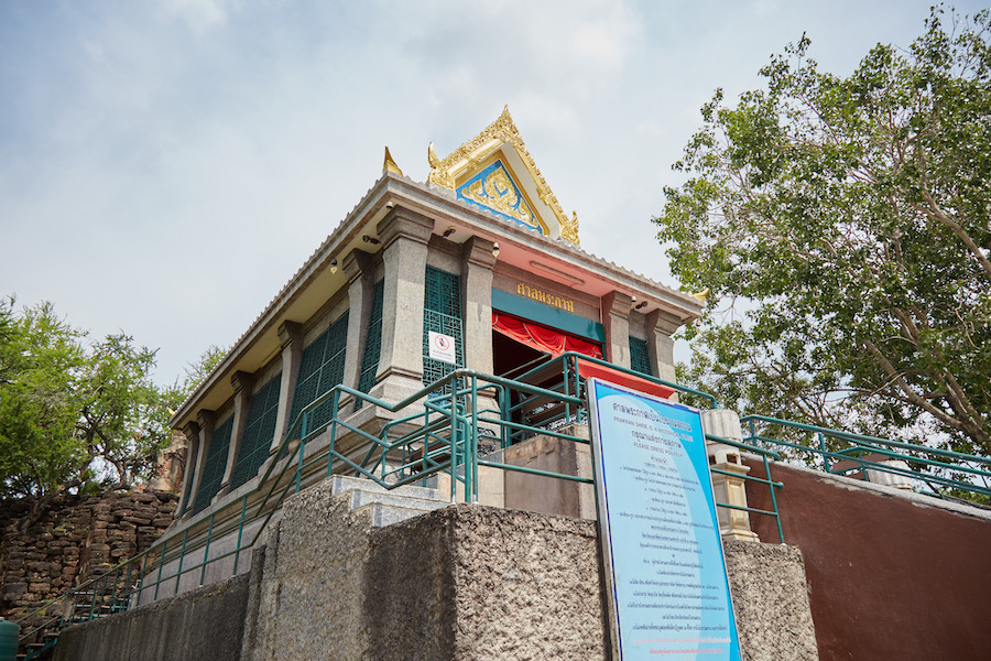 Phra Kan Shrine Exterior