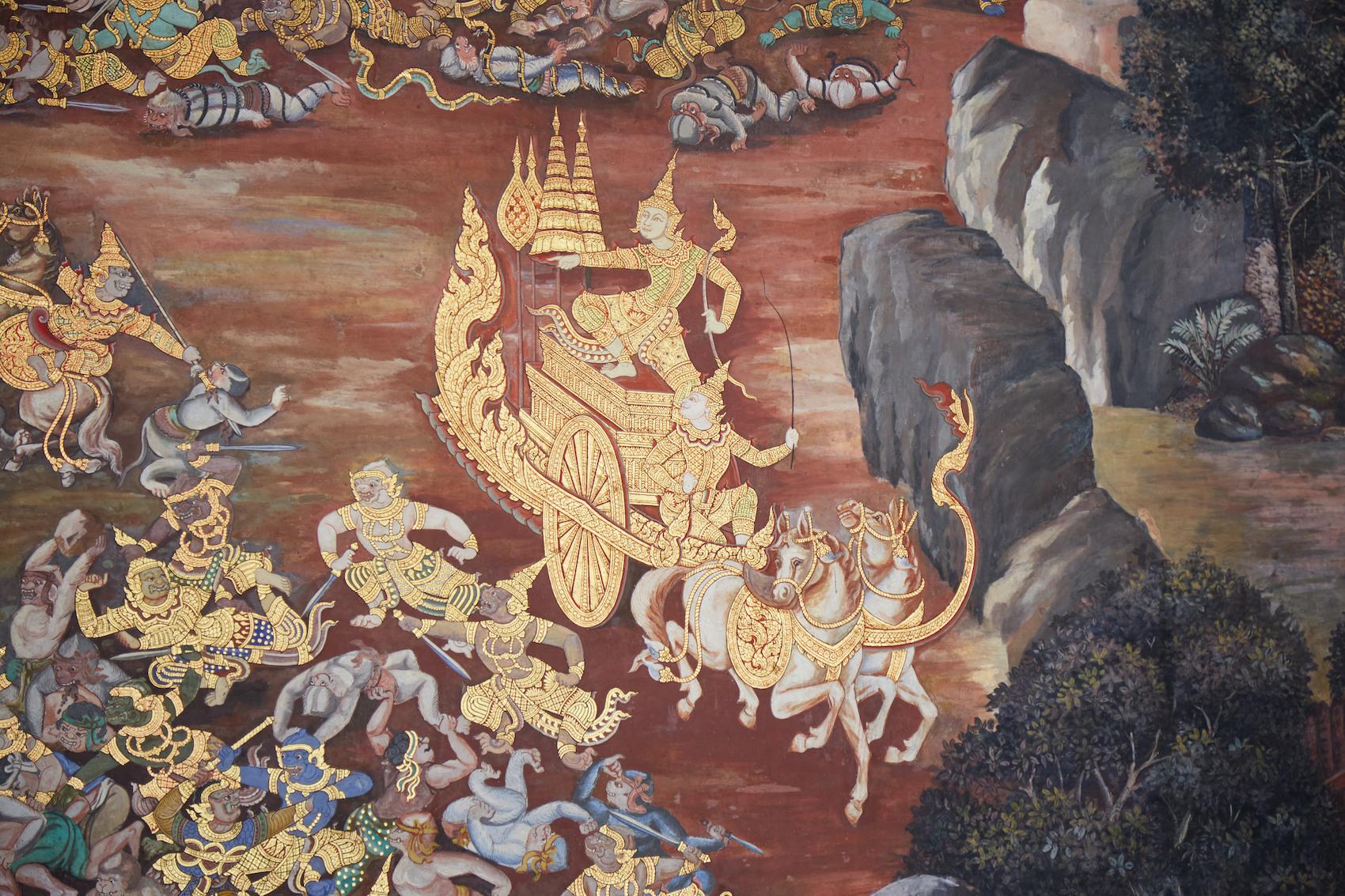 Wat Phra Kaew Ramakien