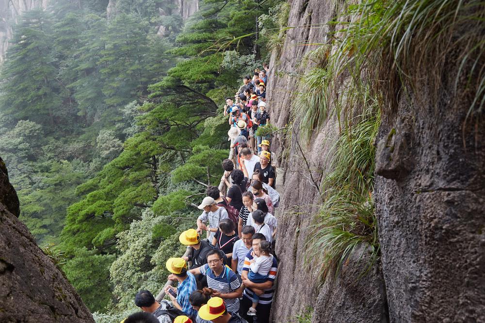 Huangshan Crowds