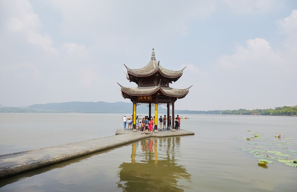 Jixian Pavilion Hangzhou West Lake
