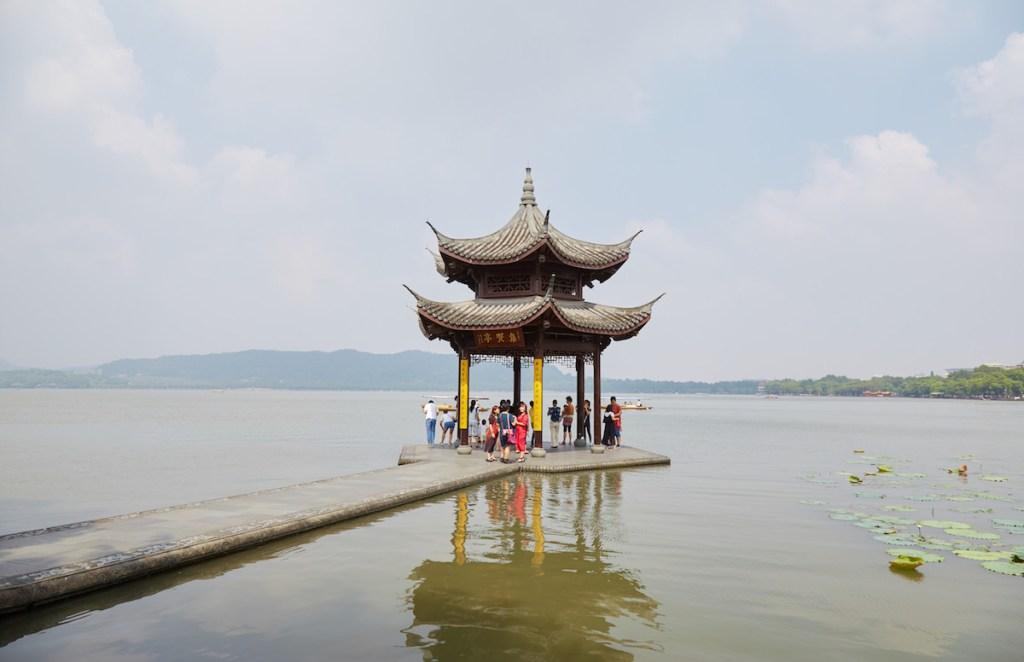 Jixian Pavilion Hangzhou West Lake