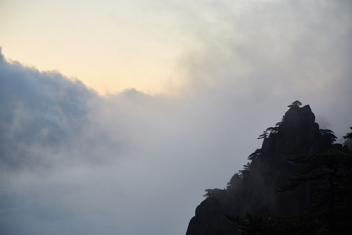 Huangshan Cloudy Sunrise