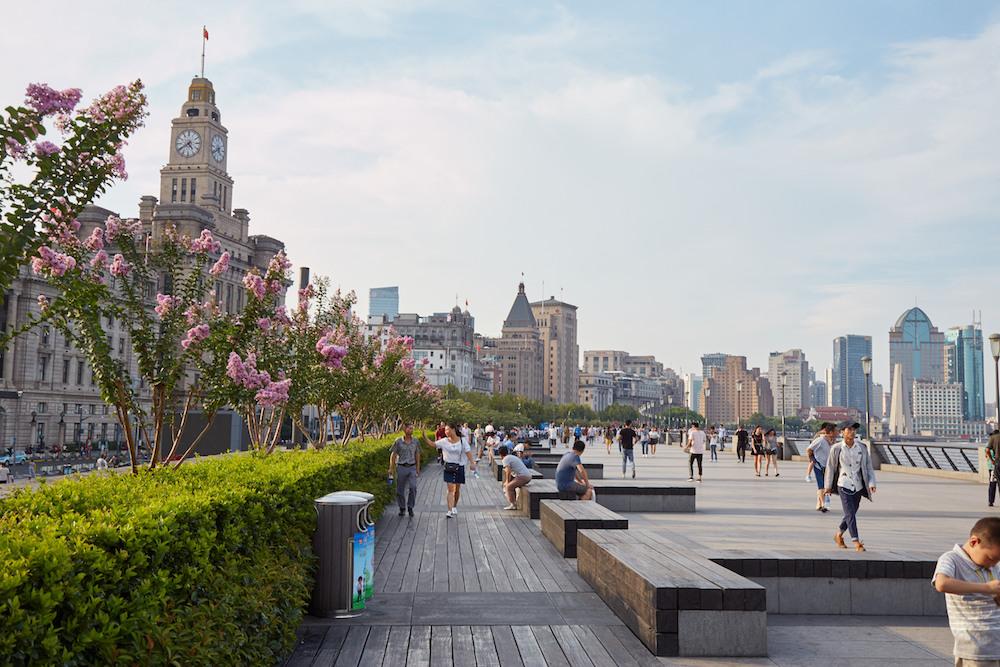 Bund view Shanghai