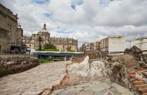 Templo Mayor Ruins Mexico City