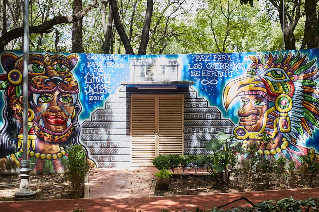 Parque Mexico Mural