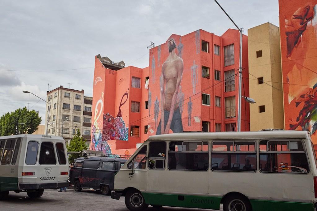 Pino Suarez Building Mural