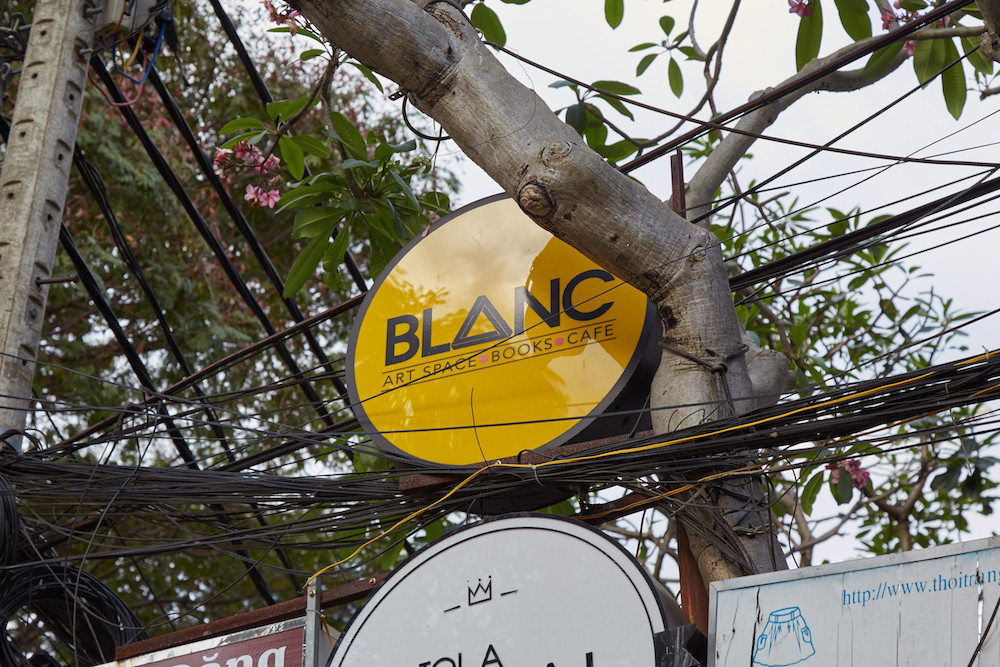Blanc Art Cafe Saigon