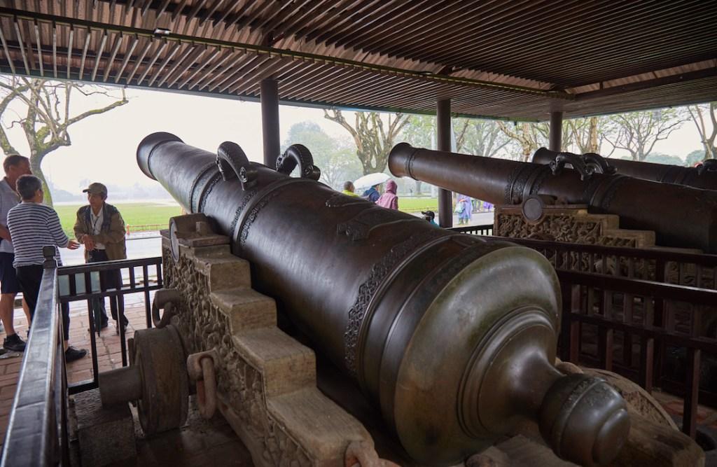 Hue Imperial Citadel Canons