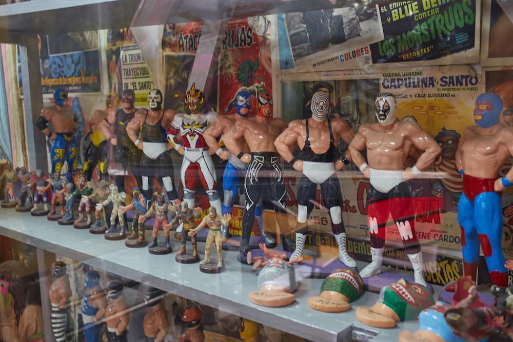 Lucha Libre Figures