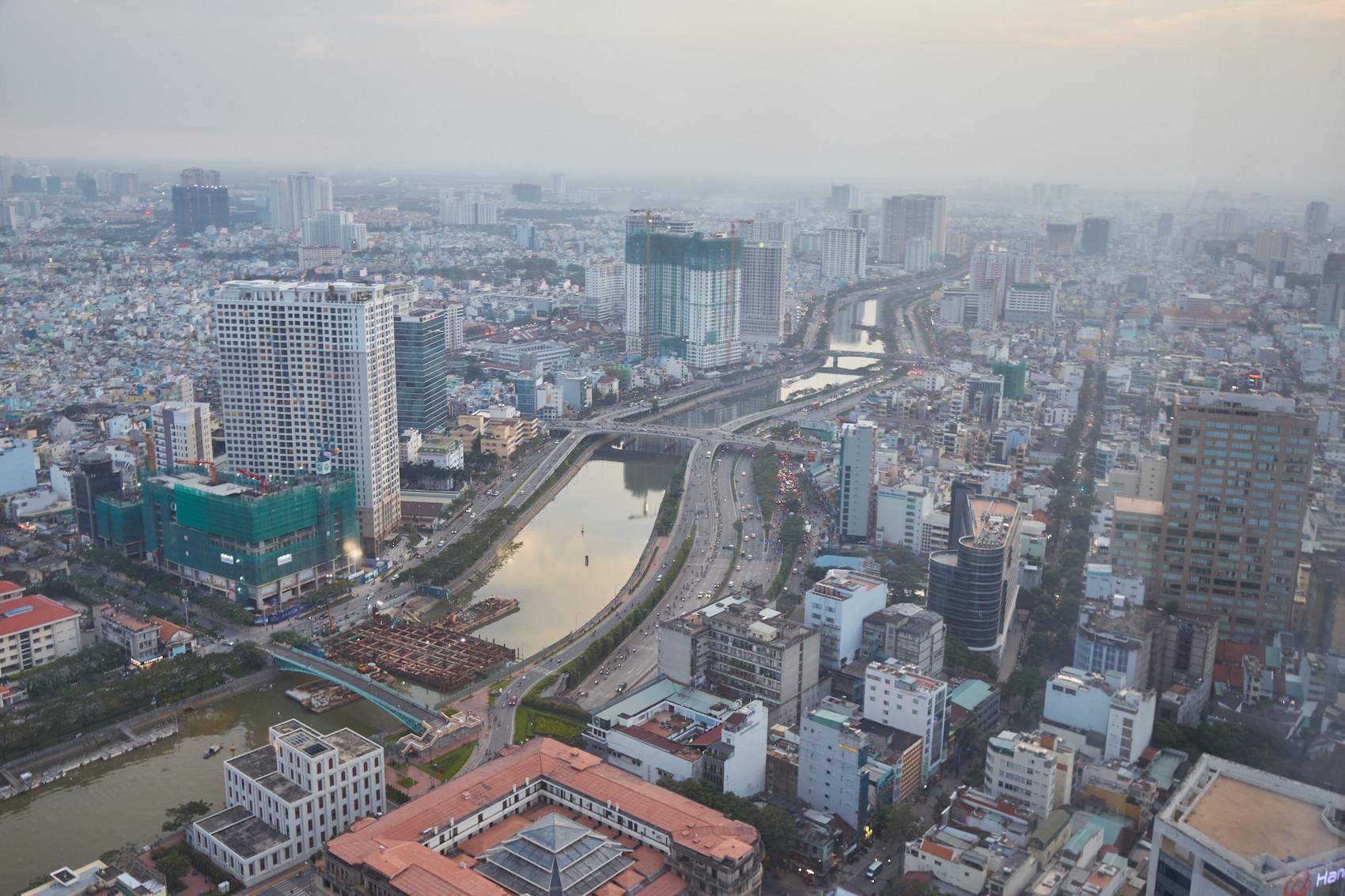 Saigon Skyline Ho Chi Minh City