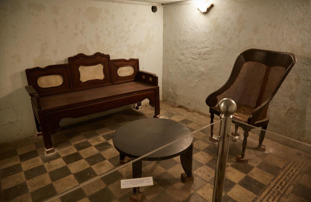 Ho Chi Minh City Museum Underground Bunker