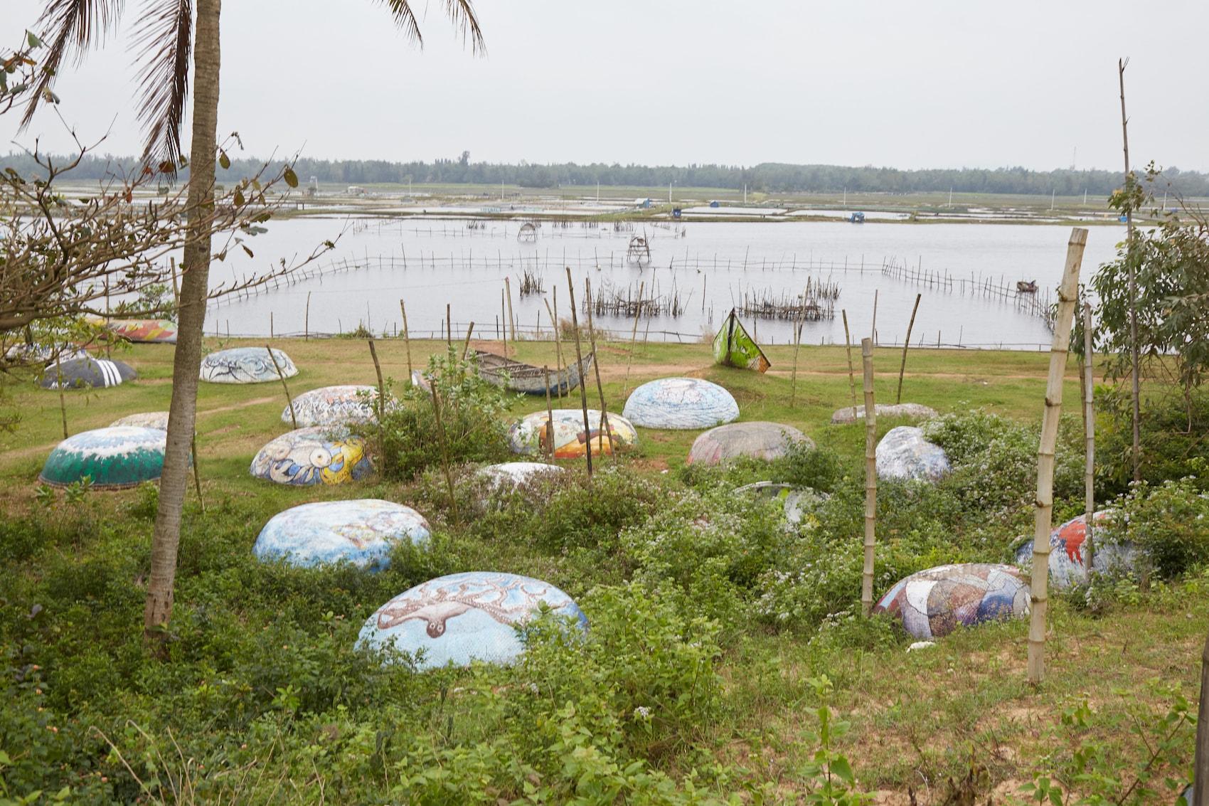 Tam Thanh Mural Village Quang Nam Vietnam