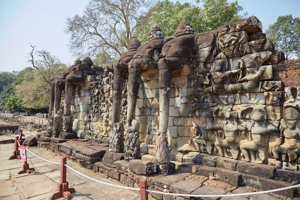 Elephant Terrace Angkor Thom