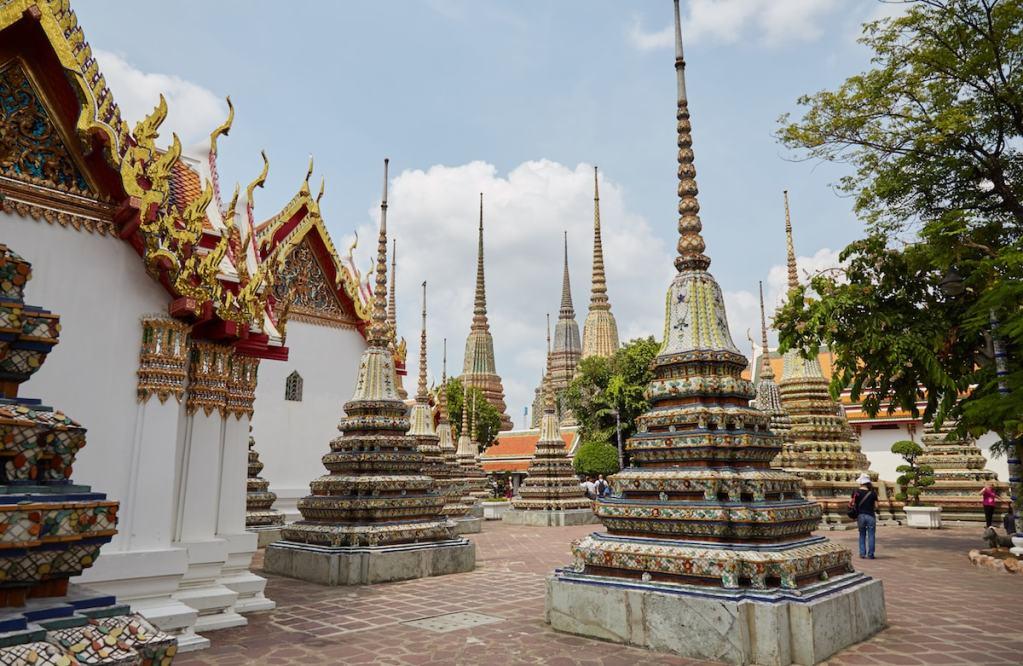 Wat Pho Stupas