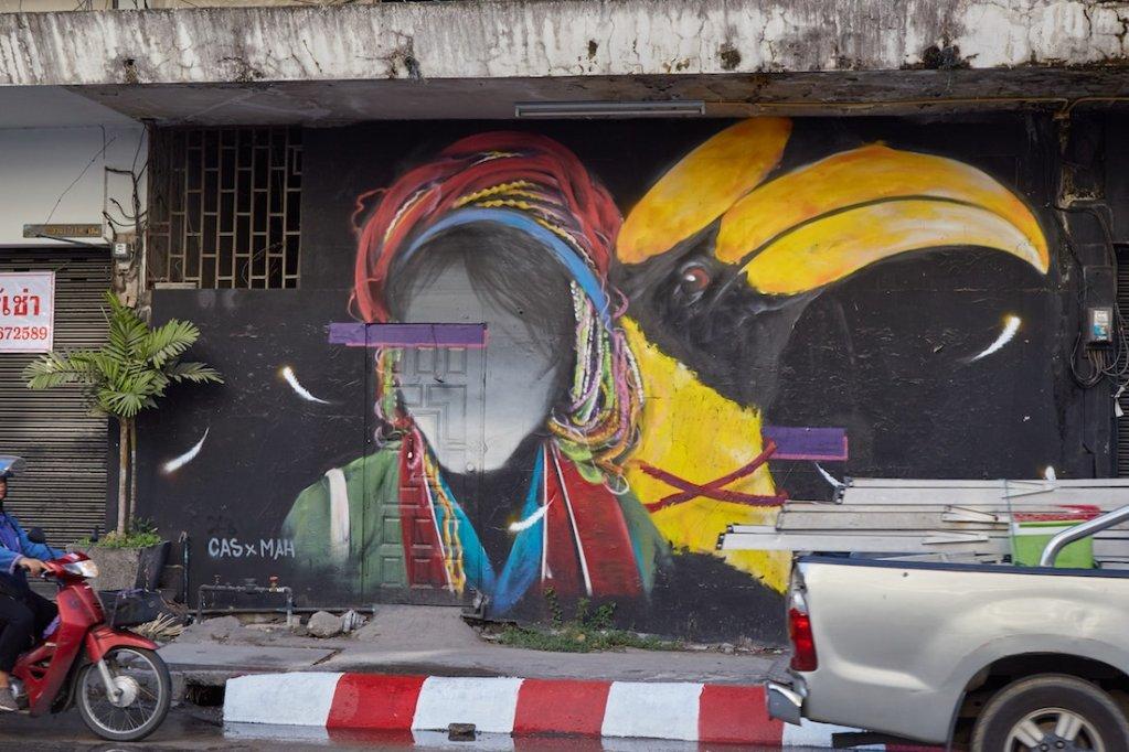 Chiang Mai Huay Kaew Street Art