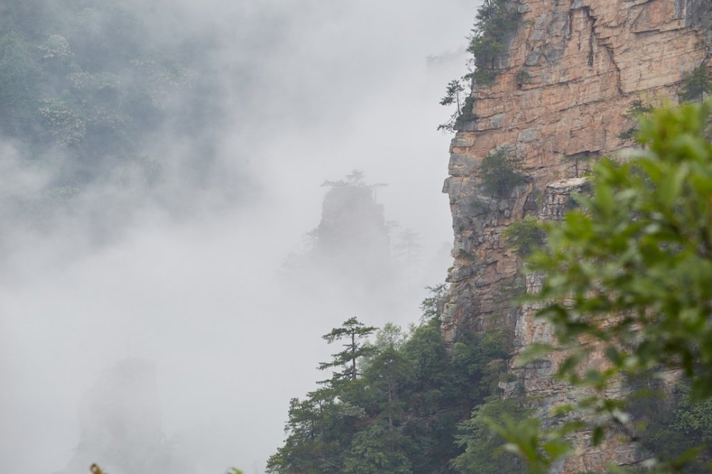 Zhangjiajie National Forest Park Tianzi Mountain