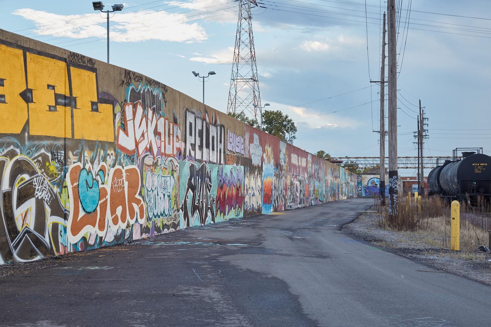 St Louis Street Art Graffiti Wall