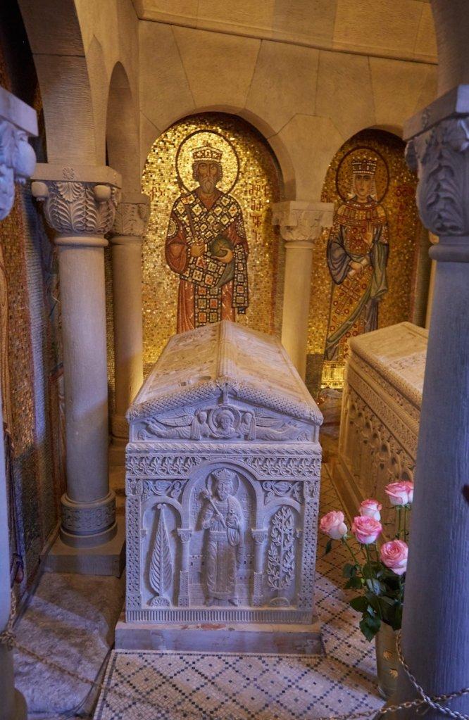 Mtskheta Samtavro Monastery Mirian III