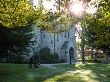 Bomberger, le plus vieux bâtiment du campus