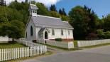 Alert Bay Church Port Mcneil Canada. Photo Ray Penson
