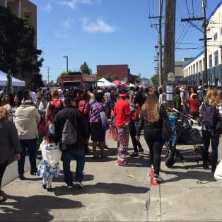 Mission Street Carnival. San Francisco