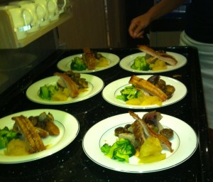Some West of Ireland Pork Belly served up mid Pacific with a good helping of crackling!! (Marie's fav!)