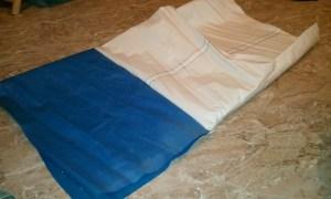 Duffel sail bag step 4