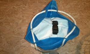 Duffel sail bag step 9