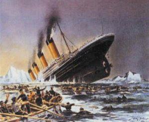 Titantic Sinking