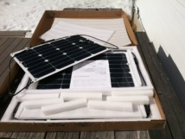 Chinese Flexible Solar Panels Delivered
