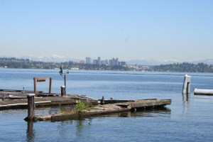 "This photo and the shot of the Coronado 25 ""Better Days"" were taken at the Leschi Marina on Lake Washington in Seattle."