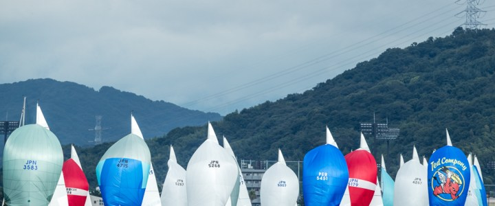 Northwest J/24s at the Worlds in Japan