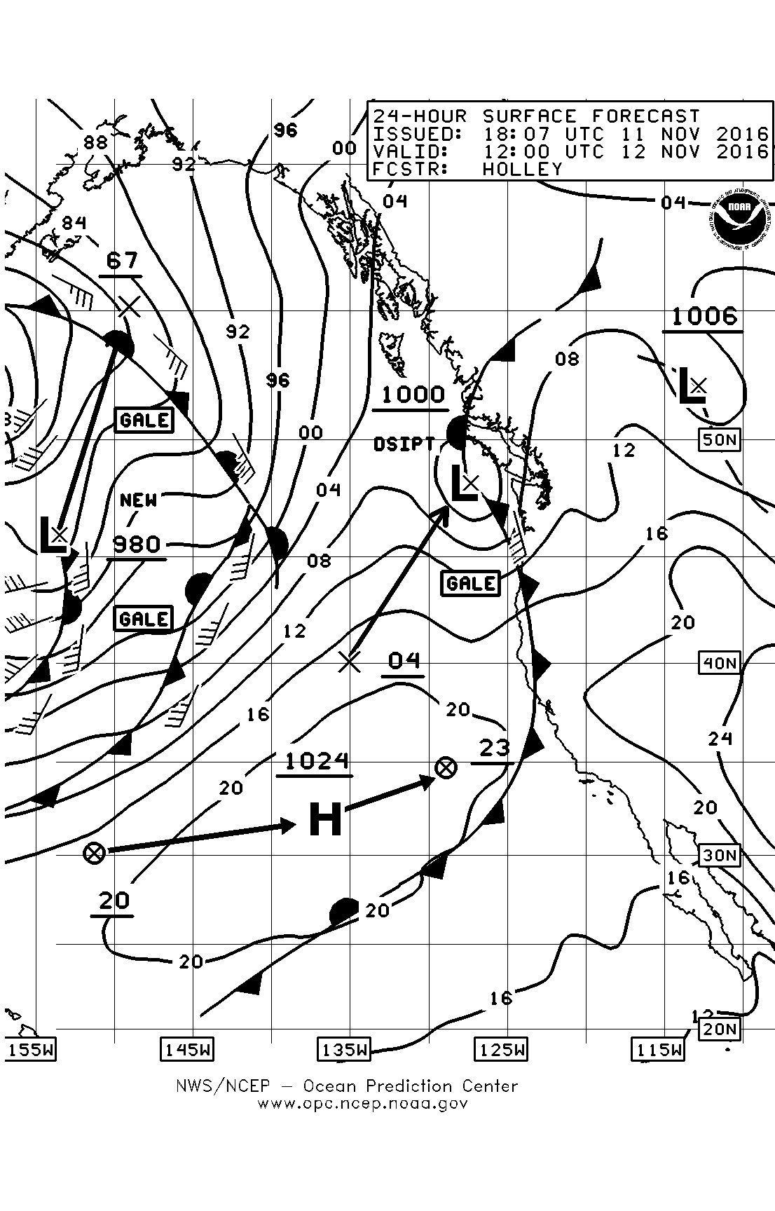 Weather page 7 sailish saturday am surface chart nvjuhfo Choice Image