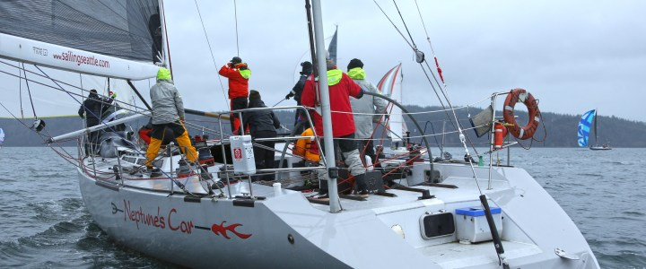 The Car puts her Stamp on the Islands Race, Three Tree Team Wins South Sound Series
