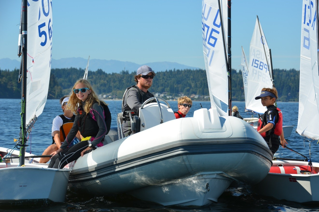 Seattle Yacht Club Awarded for Excellence in Sailing Instruction