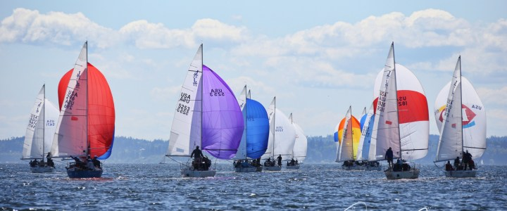 Whittemore Wins Intense J/24 Nationals in Seattle
