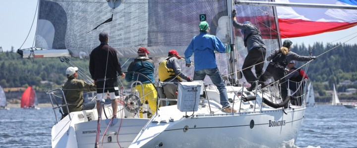 Whidbey Island Race Week in Full Swing