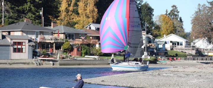 Gig Harbor Yacht Club LeMans Race – Standing Start to Reefing Finish