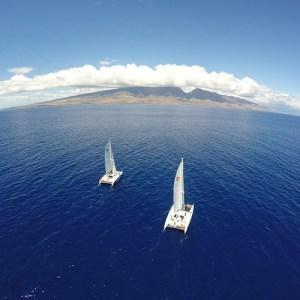 Sailing catamaran maui Eco-tours