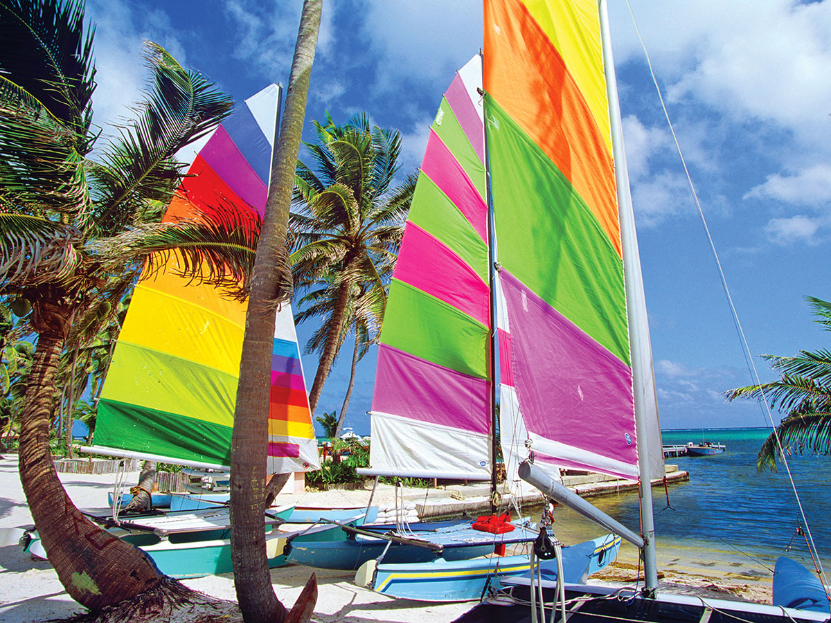 Colourful Sails