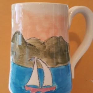 sail nelson mug