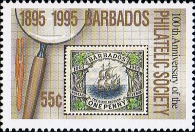 Olive Blossom, марка Барбадоса, 1995