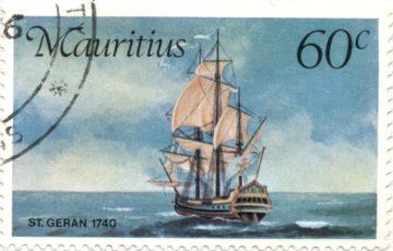 Марка Корабль St. Geran Маврикий