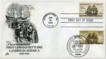 Concord, конверт первого дня, 1983