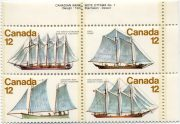 марки корабли Канады