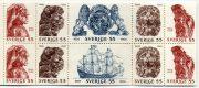 Парусник Васа - марки Швеции